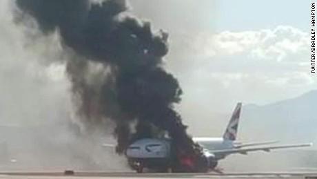 british airways plane fire ac _00012921