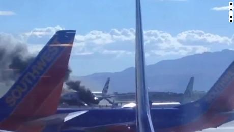 british airways las vegas airport plane fire sidner ac _00021115