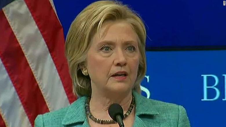 Hillary Clinton Iran Nuclear Deal Support nr_00000908
