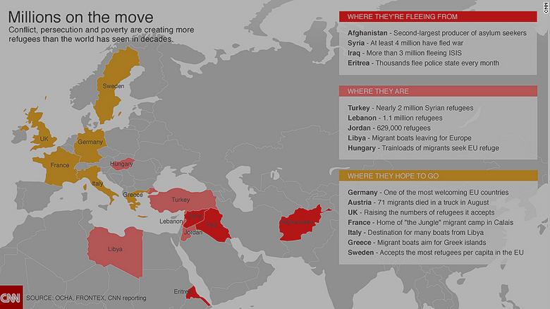 A cold reception: Gulf states shun Syrians