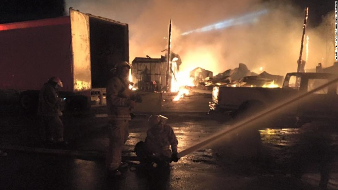 Full throttle saloon fire destroys the world s biggest biker bar