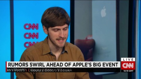 exp Dan Worth, deputy editor, V3, looks ahead to Apple's new products _00002001