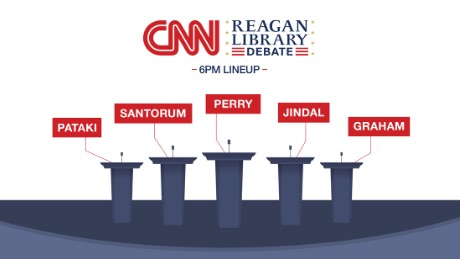 Eight candidates in two days on CNN