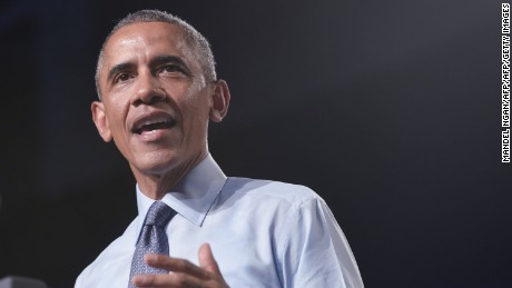 U.S. President Barack Obama speaks at Macomb Community College in Warren, Michigan on September 9, 2015.