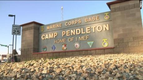marine killed 18 hurt camp pendleton_00002410