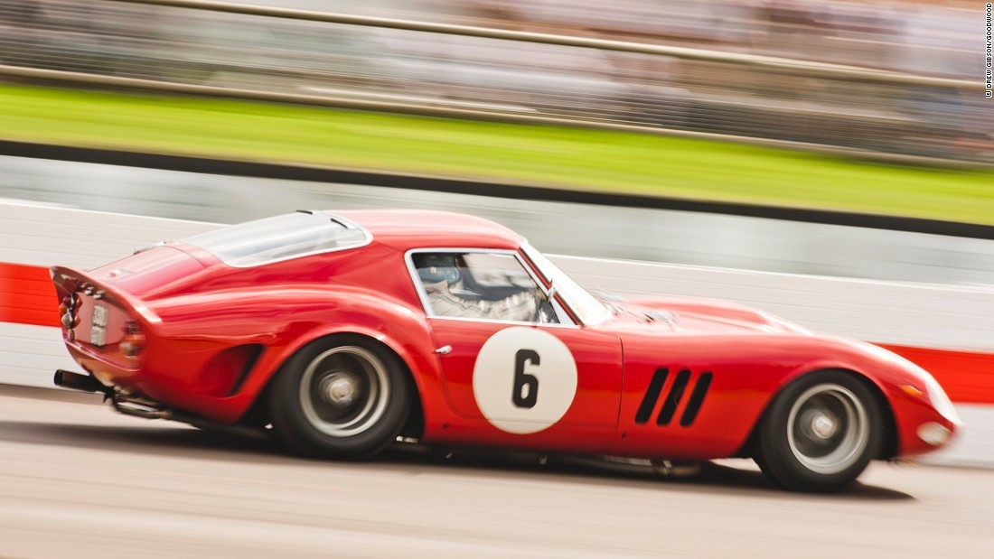 The Ferrari GTO. The Italian car company produced this car from 1962-64.  A GTO Berlinetta, made for British motor racing legend, Stirling Moss fetched a world-record price at auction in August 2014. The hammer went down at the Bonhams in California at an incredible $38,115,000.