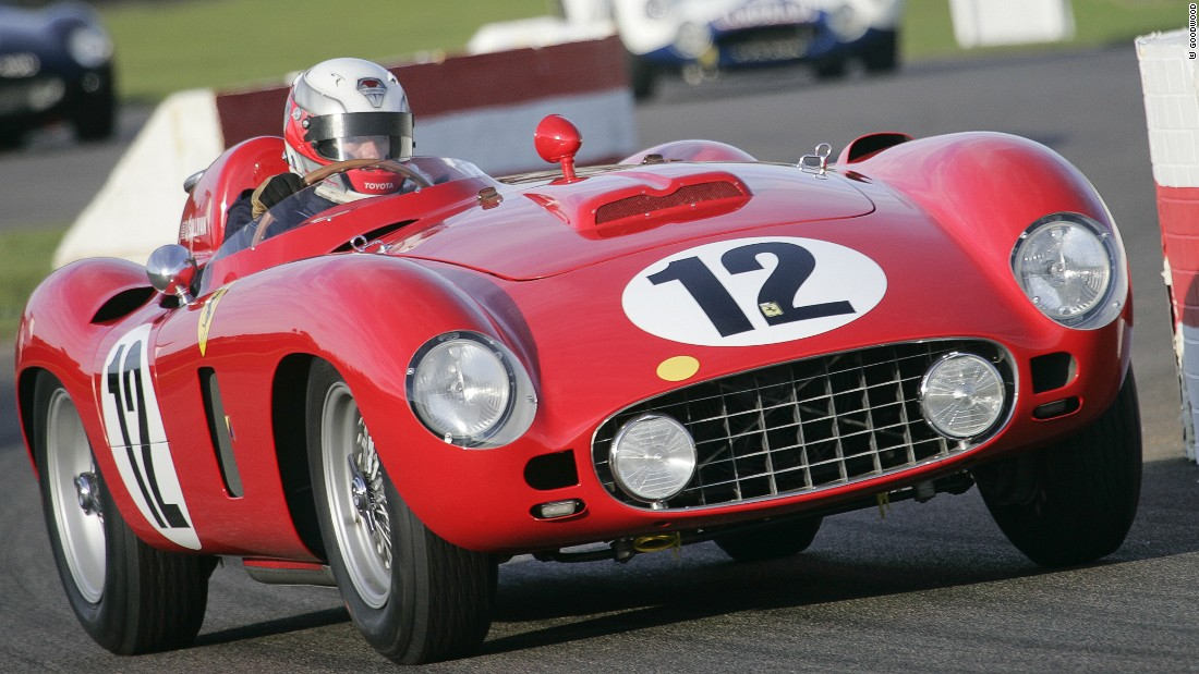 Ferrari's 860 Monza went into production in 1956 and was driven by five-time Formula One world champion, Juan Manuel Fangio.