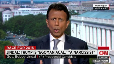 "Jindal: Trump is ""egomaniac"", ""narcissist""_00015425"