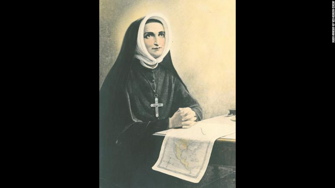 """<strong>St. Rose-Philippine Duchesne</strong> was born in 1769 in France. She became a nun when she was 18, but her contemplative community was dispersed after the French Revolution.  When she was 35, she joined the Society of the Sacred Heart of Jesus. When she was 49, she <a href=""""http://www.vatican.va/news_services/liturgy/saints/ns_lit_doc_19880703_duchesne_en.html"""" target=""""_blank"""">sailed for </a>what was then known as the New World, where she established her order's first house outside France and founded several schools. She died in St. Charles, Missouri, in 1852."""