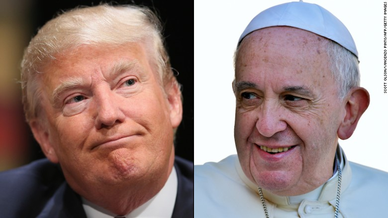 Donald Trump: Pope is a 'very political person'