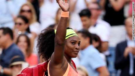 NEW YORK, NY - SEPTEMBER 11:  Serena Williams of the United States walks off of the court after loosing to Roberta Vinci of Italy during their Women's Singles Semifinals match on Day Twelve of the 2015 US Open at the USTA Billie Jean King National Tennis Center on September 11, 2015 in the Flushing neighborhood of the Queens borough of New York City.  (Photo by Matthew Stockman/Getty Images)