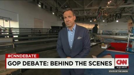 SOTU Tapper: CNN Debate behind the scenes_00004111