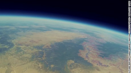 The Grand Canyon from the edge of space - CNN Video