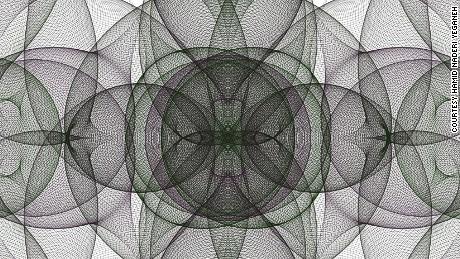 Next da Vinci? Math genius using formulas to create fantastical works of art