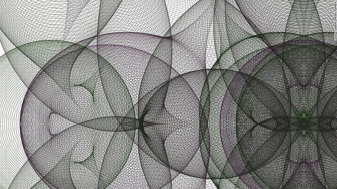 Next Da Vinci? Math Whiz Creates Fantastical Works Of Art
