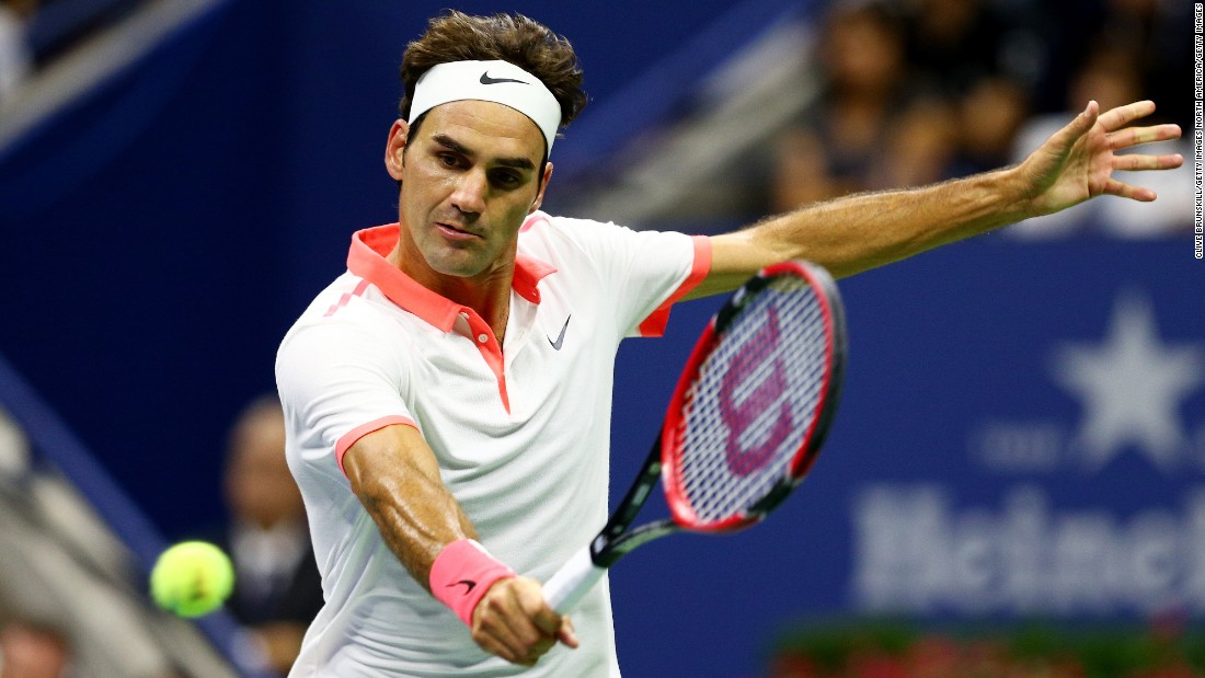 Federer, seeking his 18th grand slam title and sixth U.S. Open crown, had not dropped a set during the tournament before the final.