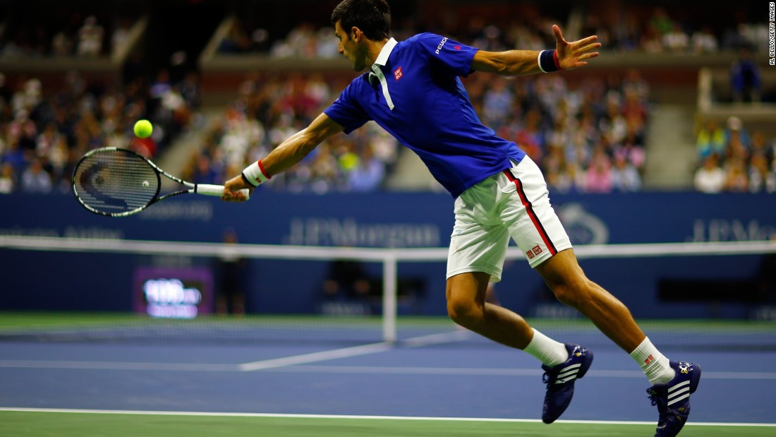 Djokovic was able to nullify Federer's recent adoption of aggressive tactics to attack his opponents' service game.