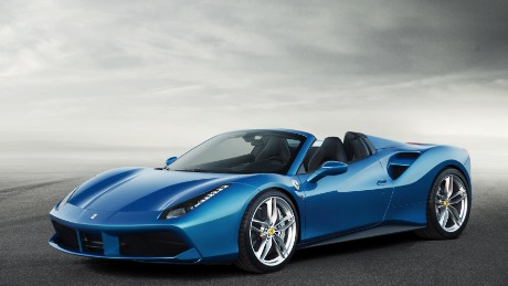 Based on the 488 GTB, the 488 Spider is the most powerful mid-engined Ferrari convertible ever. Capable of reaching 62mph in three seconds and topping out at 203mph, it's every bit as fast as it looks.
