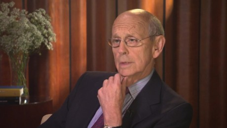 Wolf Blitzer interview with Justice Stephen Breyer on revisiting the death penalty _00010006