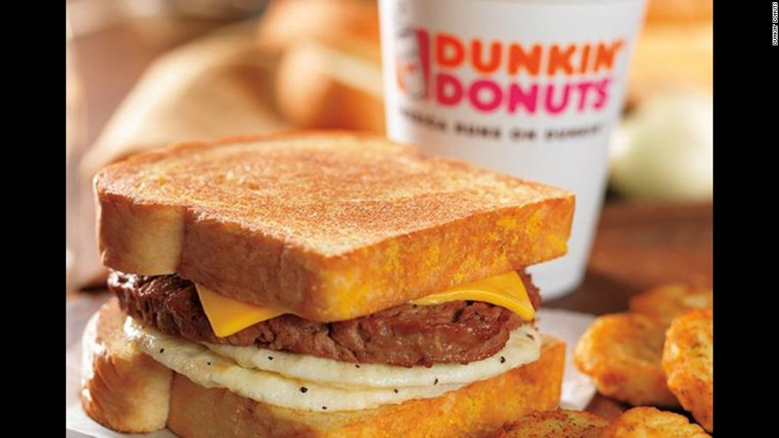 """Dunkin' Donuts earned 24 points out of a possible 36 and received a grade of C. The company said it is """"committed to the humane treatment of animals and we believe in the transparency of our animal welfare practices ... Dunkin' Donuts has stringent food quality standards for all of our products that meet all requirements of the FDA and USDA -- complying with all laws, ordinances and regulations."""""""