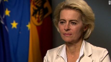 Ursula von der Leyen  German Defense Minister