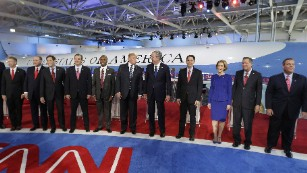 Republican debates: The main event