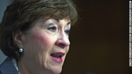 Sen. Susan Collins is one of the few Republicans who think an Obama nominee should get a hearing