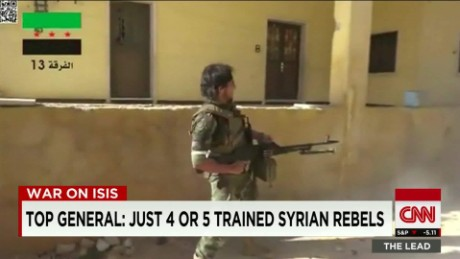training syrian rebels isis starr DNT_00003022