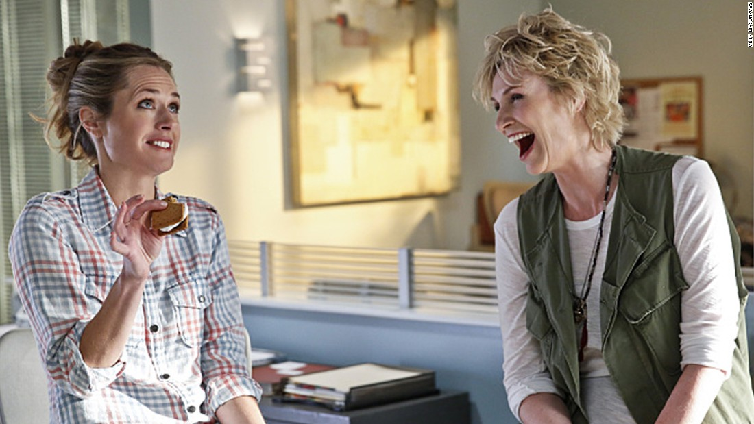 "CBS landed a coup picking up ""Angel from Hell,"" a new series starring ""Glee's"" Jane Lynch. However, it couldn't compete in its high-profile Thursday night time slot, and the network ended it after five episodes."