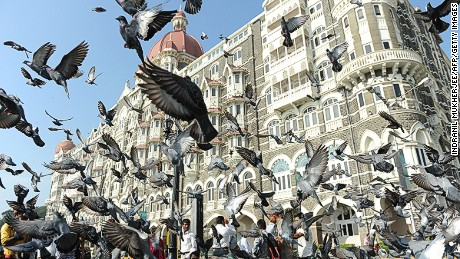 Opened in 1903, the Taj Mahal Palace hotel remains a Mumbai landmark.