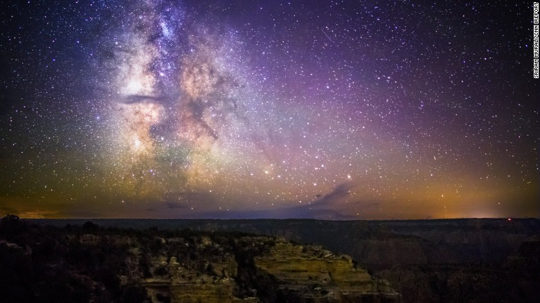 Eighty percent of Americans, 60 percent of Europeans can't see Milky Way 150918115148-milky-way-grand-canyon-irpt-2-exlarge-169