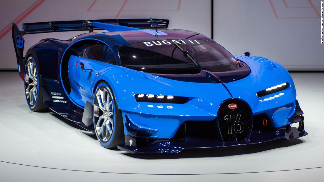 cars bugatti frankfurt vision concept transform gran turismo motor super electric lamborghini vs usa game future highlights camp cnn auto