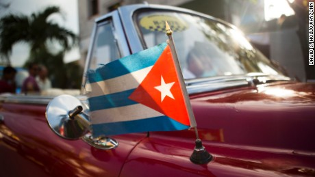 Havana, Cuba - APRIL 14: Anthony Bourdain visits Havana, Cuba on April 14, 2015. (photo by David S. Holloway)