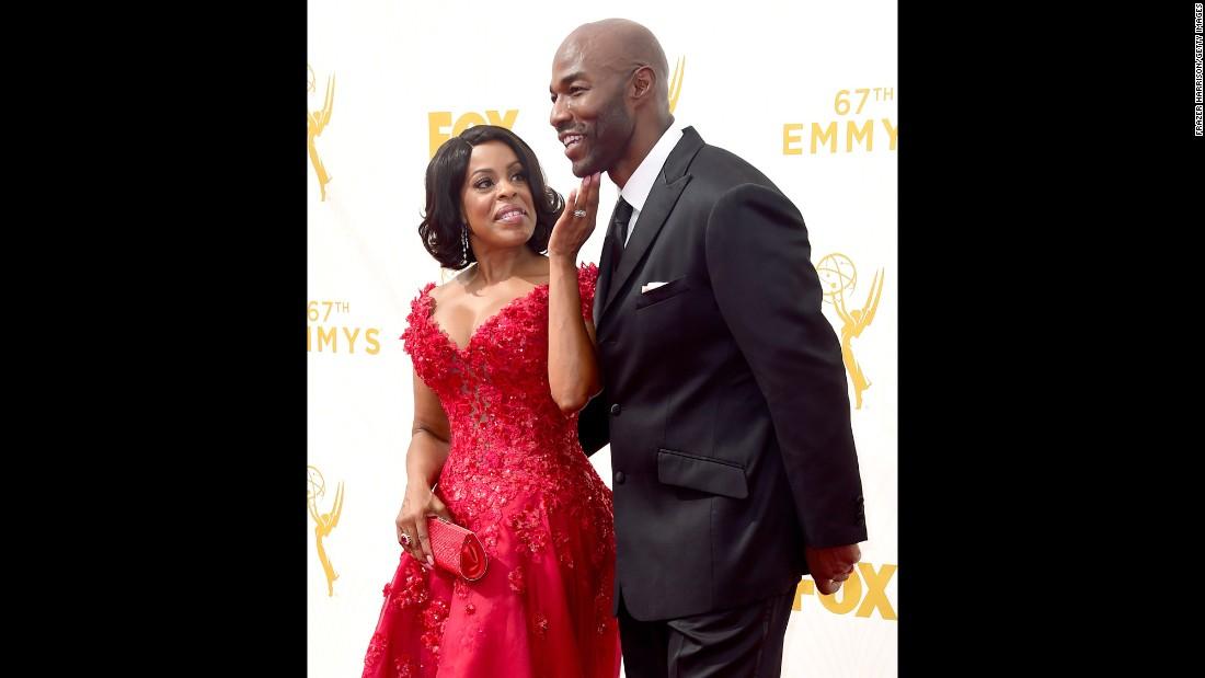 Niecy Nash and her husband, Jay Tucker