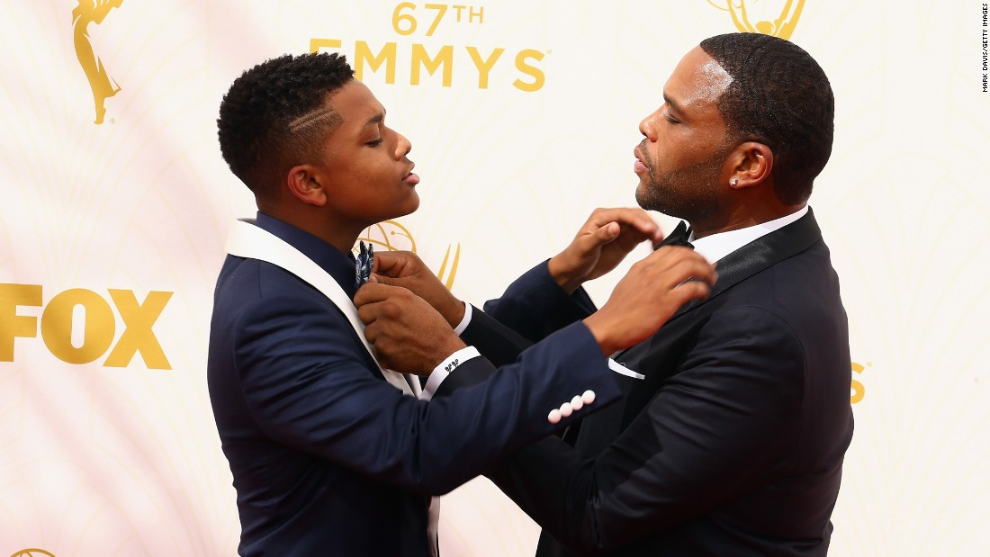 Anthony Anderson and his son, Nathan