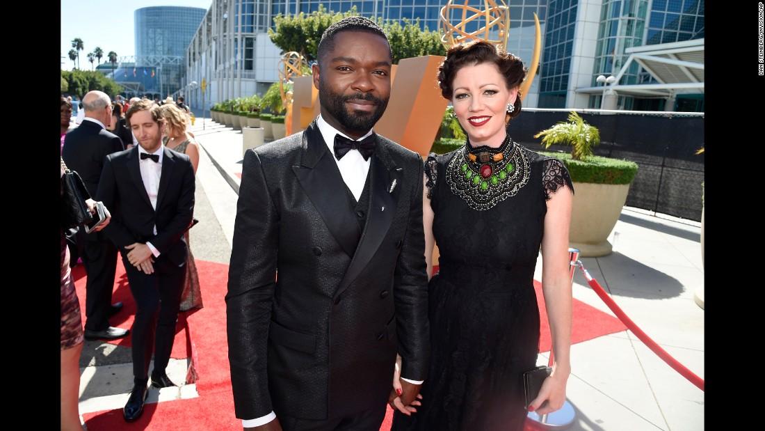 David Oyelowo and his wife, Jessica