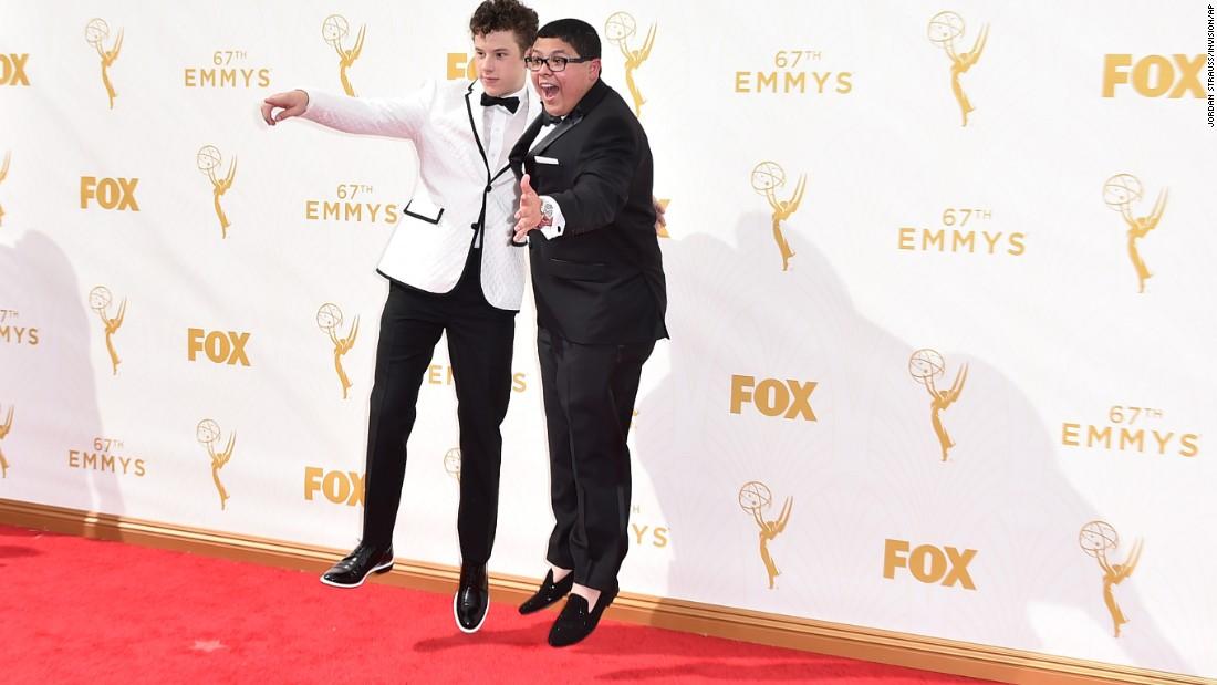 Nolan Gould, left, and Rico Rodriguez