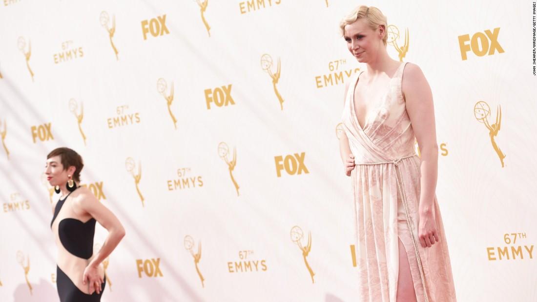Naomi Grossman, left, and Gwendoline Christie