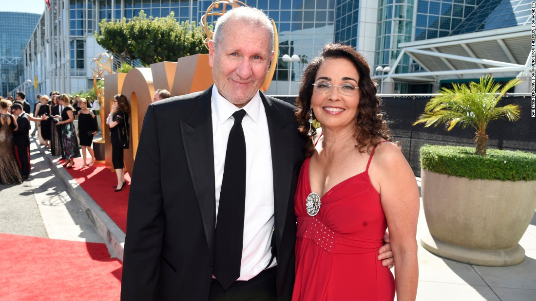Ed O'Neill and his wife, Catherine Rusoff
