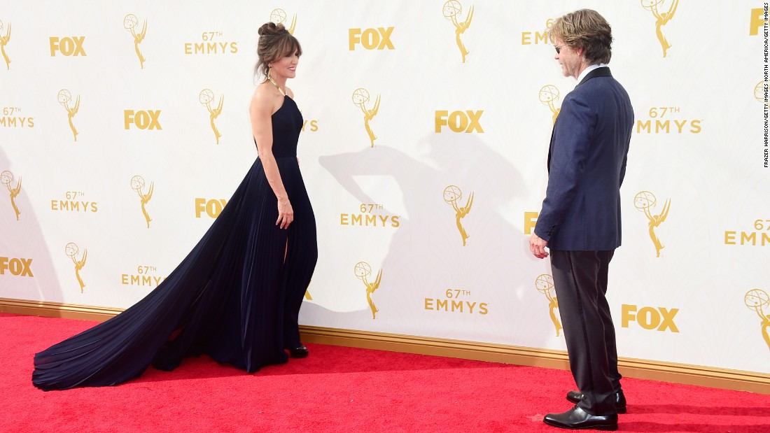 Felicity Huffman and her husband, William H. Macy
