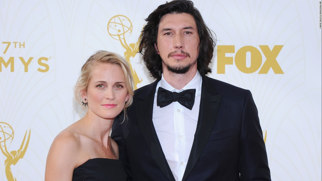 Adam Driver and his wi...