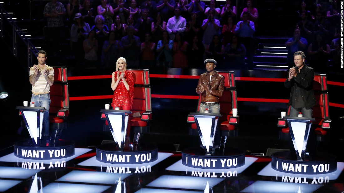 """<strong>Outstanding Reality-Competition Program:</strong> """"The Voice"""""""