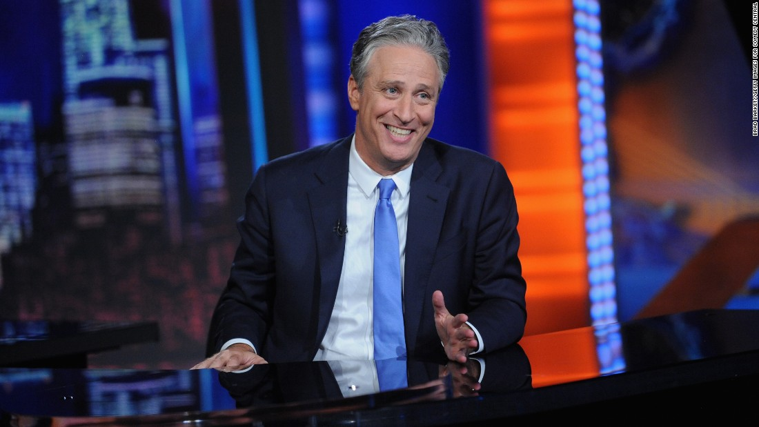"""<strong>Outstanding Variety Talk Series:</strong> """"The Daily Show with Jon Stewart"""""""