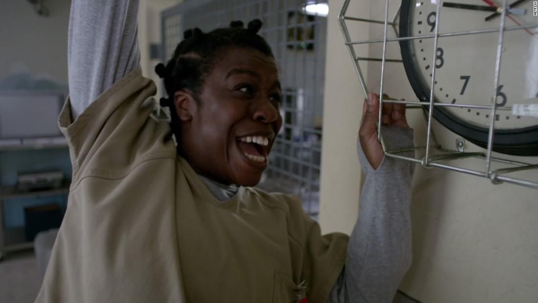 """<strong>Outstanding Supporting Actress in a Drama Series:</strong> Uzo Aduba, """"Orange Is the New Black"""""""