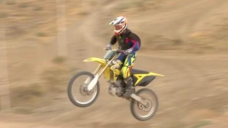 iran woman motocross equality pleitgen pkg_00001613