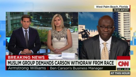 Armstrong Williams defends Carson_00000000
