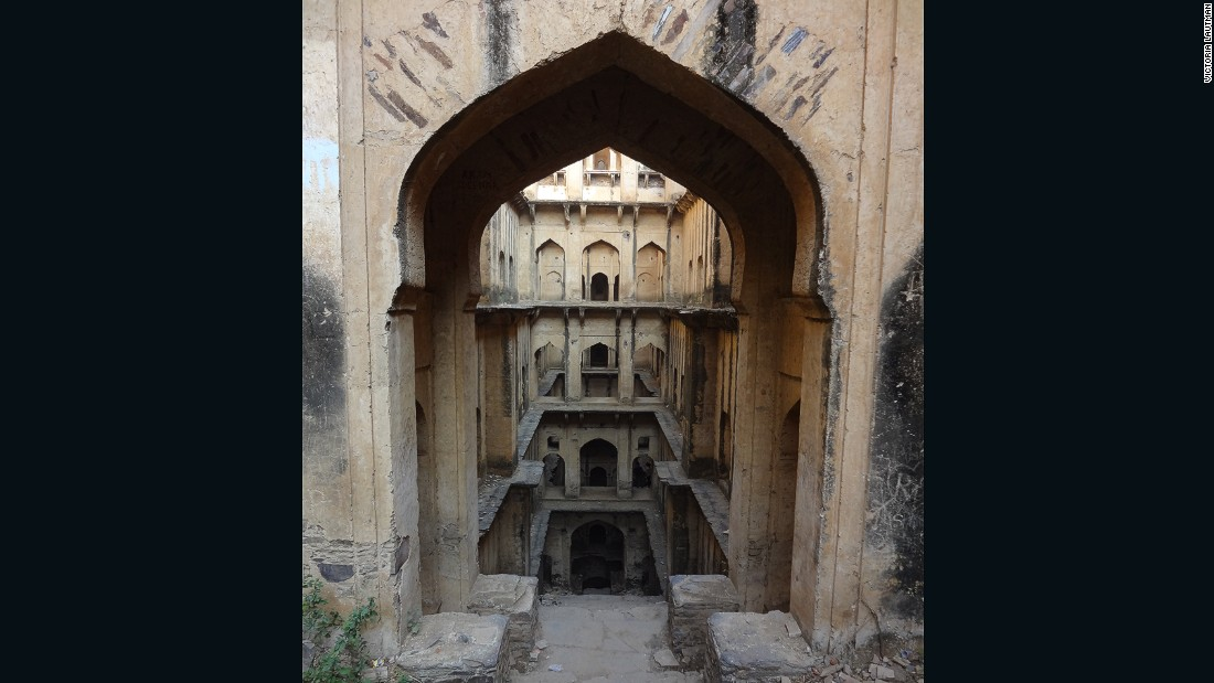 """""""This is where I knew I had slipped over the line from 'enchanted' to 'obsessed.' Neemrana is very deep -- 9 stories -- and dangerously decrepit, but one of the most marvelous structures I've ever seen. Ever."""""""