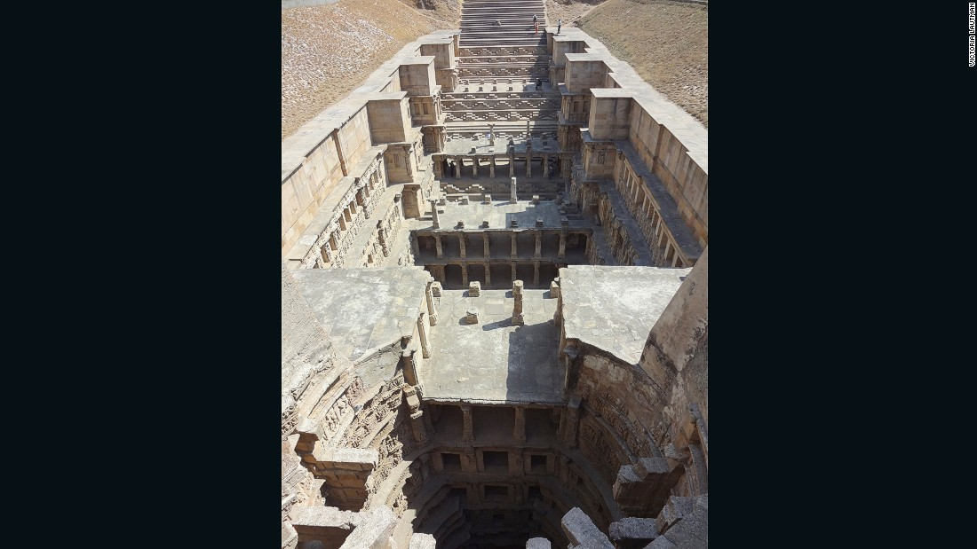 """""""This is the largest, most grandiose, costliest and probably most impressive stepwell ever built. Last year it became an UNESCO World Heritage Site, thankfully, and it's literally impossible to try and describe it."""""""