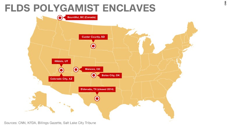 a report on the polygamist sect fundamentalist church of jesus christ of latter day saints flds in c The fundamentalist church of jesus christ of latter-day saints (flds  of the fundamentalist church of jesus christ of  polygamist sect 'demands husbands.