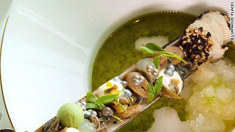 Chef Moshik Roth's Jardins de la Mer.